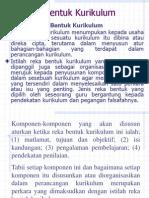 3. Reka Bentuk Kurikulum (1)