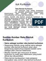 3. Reka Bentuk Kurikulum (2)