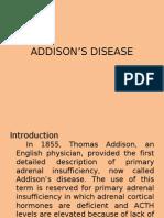 ADDISON'S-DISEASE