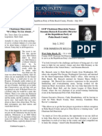 Palm Beach County GOP Newsletter -July 2012