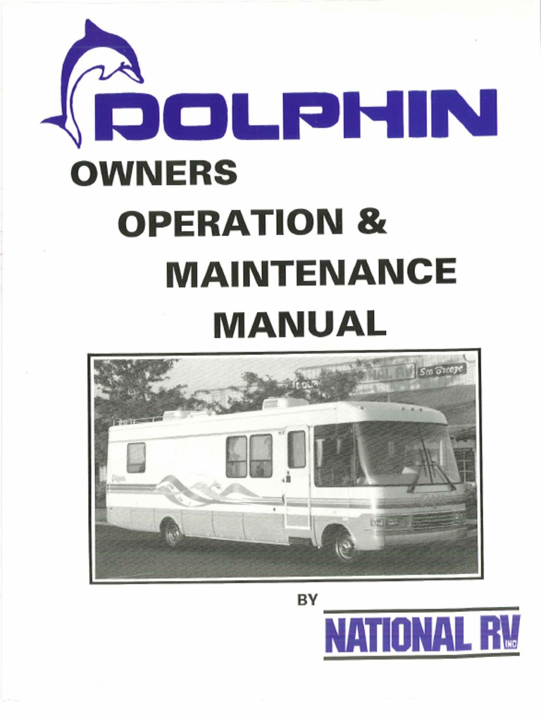 1996 Dolphin Owners Manual 1 of 2 | Camping | Wheeled VehiclesScribd