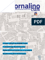 Giornalino CSEN n° 0 Aprile