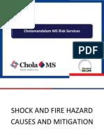 Shock and Fire Hazard