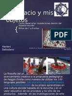 Ponencia Intalacion-El Espacio y Mis Objetos