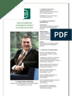 Carta Despedida Presidente CNDEUTO Prof Sergio Santos Del Riego, 8 de Junio de 2012
