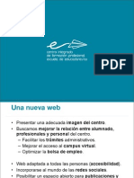 Presentacion Web Escuela de Educadores/as