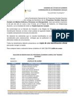 PADRÓN GUERRERO CUMPLE REGIÓN ACAPULCO, MUNICIPIO DE ACAPULCO