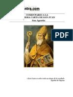 San Agustin Comentario Carta Juan
