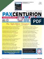 Pax Centurion - November/December 2011