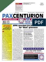 Pax Centurion - September/October 2010