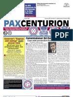 Pax Centurion - September/October 2009