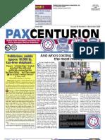 Pax Centurion - March/April 2009