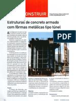 Ed. 71 - Fev-2003 - Estruturas de Concreto Armado com formas metálicas tipo túnel
