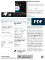 HP Inkjet Mail-In Rebate 7/01/2012 - 9/30/2012