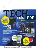 July 2012 Tech Solutions Flyer