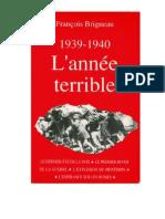 71387742 Brigneau Francois 1939 1940 L Annee Terrible