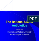 Rational Use of Anitibiotic