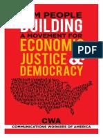 BUILDING A MOVEMENT FOR ECONOMIC JUSTICE & DEMOCRACY