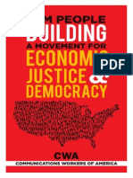 BUILDING A MOVEMENT FOR ECONOMIC JUSTICE & DEMOCRACY