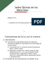 Propiedades opticas de los materiales
