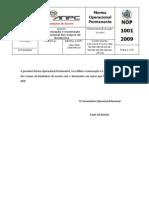 NOP 1001-2009 - Organização e numeração Operacional dos Corpos de Bombeiros