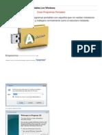 Como Crear Programas Portables Con Windows
