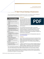 How Cisco IT Built Virtual Desktop Infrastructure