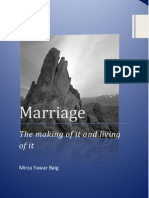 Marriage the Making of It and the Living of It