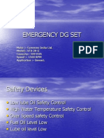 Emergency Dg Set