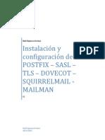 Instalacion y Configuracion de Postfix-sasl-tls-dovecot-squirrelmail-mailman en Debian v3