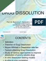 Drug Dissolution
