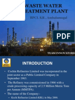 Waste Water Treatment Plant- Bpcl