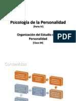 Clase 04 - Organizaciyn Del Estudio de La Personalidad