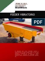 Alimentador Vibratorio y Feeder Grizly