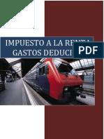 Gastos Deducibles( Inciso d), e) y f) Del Art 37)Tuo Lir