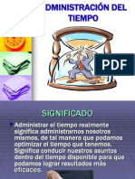 Adminis Traci on Del Tiempo