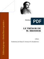 Wells, Herbert George - Le Tresor de Mr Brisher