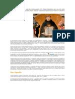 Biografia Santo Tomas, San Agustin
