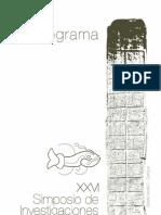 Programa FINAL, 2012