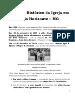 História da Igreja SUD em Belo Horizonte