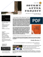 Wooten Newsletter Summer 2012