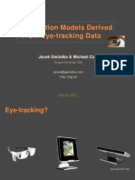 Toward Interaction Models Derived From Eye-tracking Data presented at Polish IA Summit 2012