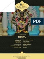 ISKCON Newsletter 2012 05 May