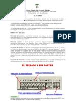 Teclado, Wordpad y Paint