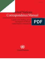 UN Correspondence Manual