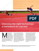 Choosing the Right Technology