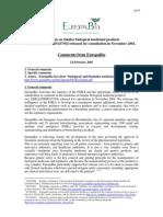 Biosimilars Europabio Guidelines