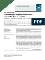 Improved Bonding of Zirconia Substructures Tglaze on Tech