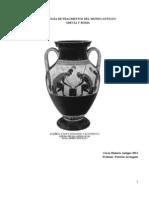 Antologia de fuentes de la Antigüedad 2012
