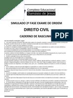Simulado Civil 2012